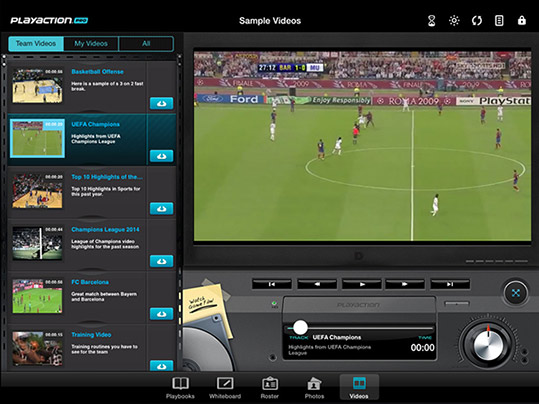Video Telestrator and iPad Video Player for Sports Teams